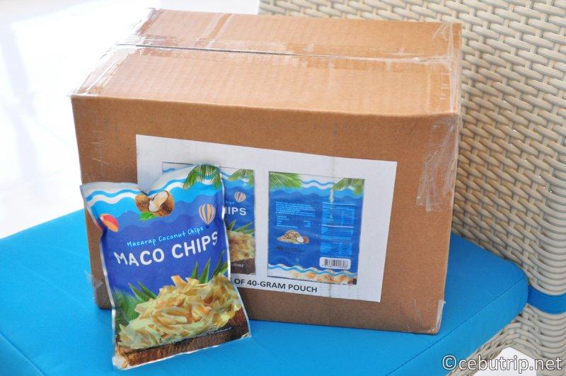 最近、話題のセブ島土産「MACO CHIPS」とは??