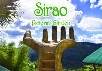 "A popular local spot in Cebu ""Sirao Pictorial Garden"""
