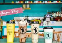"Must-see dog lovers! Dog cafe ""GUGU DOG"""