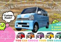 "Cebu used car sales> ""Custom-made car"" with selectable colors"