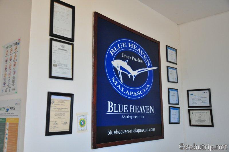ダイバーの楽園マラパスクア島にあるダイビングショップ『ブルーヘブン』
