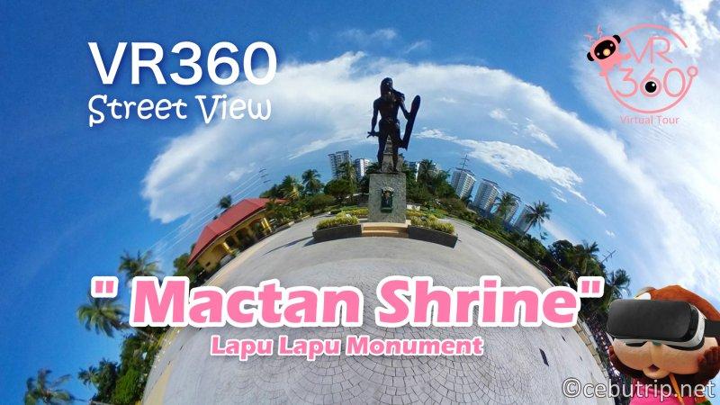 【VR360ストリートビュー】マクタンシュライン Lapu-Lapu Monument(ラプラプモニュメント)