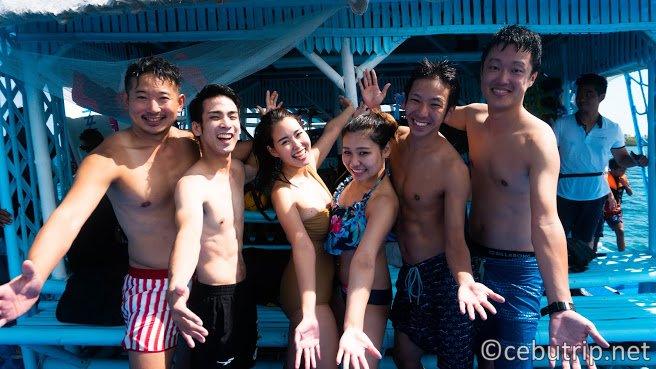 【セブ初!】スピードボートで行く!!オランゴ島で海に浮かぶバンブーウォーターパーク!