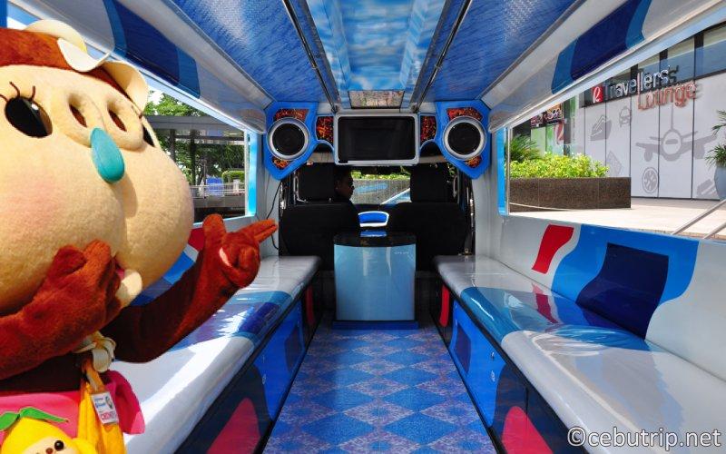 セブ市内の人気観光地をジープニーで巡る『セブシティーツアー』が登場!!