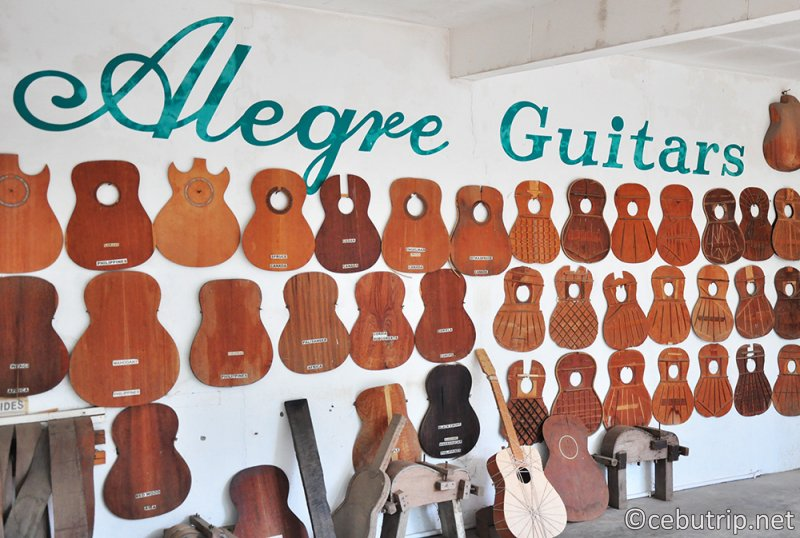 Mactan's Alegre Guitars factory