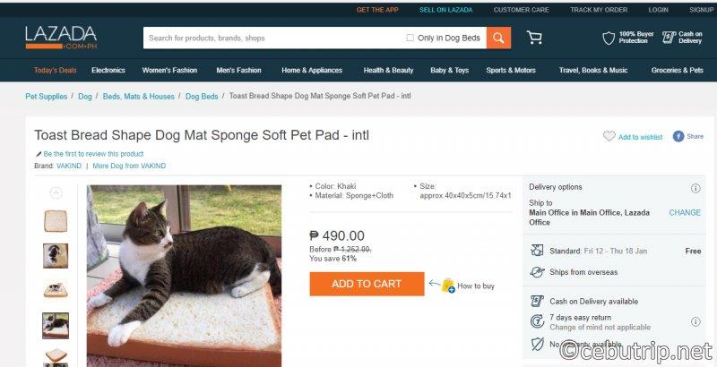 フィリピン(セブ島)の通信販売「Lazada」で購入しても、ちゃんと届くのか??実際に注文してみた!