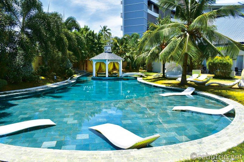 専用プール無料で使えるホテル内にあるリゾートスパ「nouveau SPA(ヌーボースパ)」