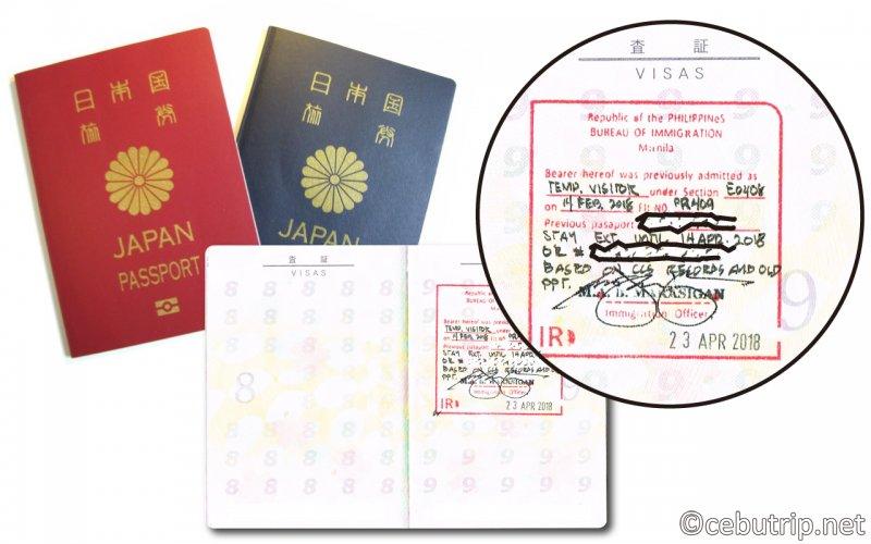 【重要】セブでパスポートを更新後に「観光ビザ」を延長する場合の注意