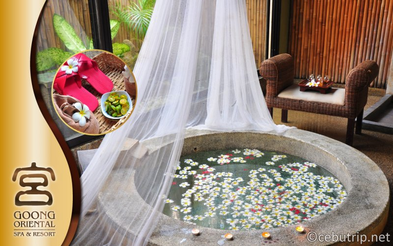 ENJOY A SPECIAL DISCOUNT AT GOONG ORIENTAL SPA AND RESORT
