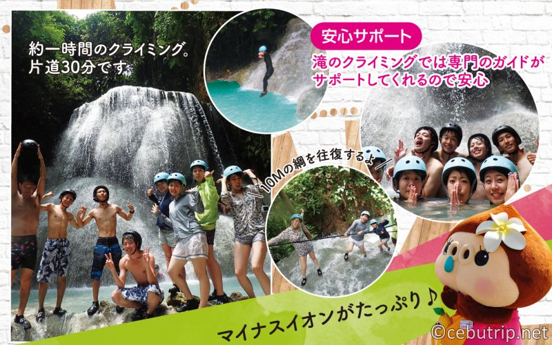 Have a great experience with Whale shark tour and beautiful water fall.
