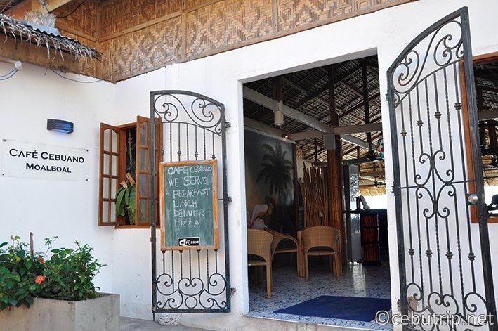 モアルボアルおすすめレストラン CAFE CEBUANO