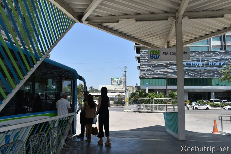 【Mybus】フィリピンセブ島の安全な公共交通機関!