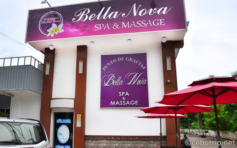 Have a relaxing moment at Bella Nova Spa & Massage before departing the Historic Resort City!