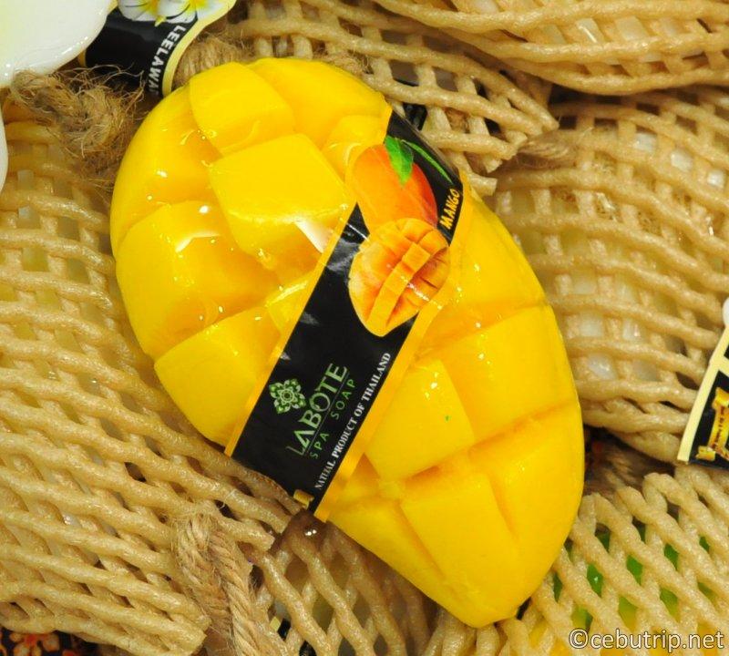 これに決まり!!絶対にもらって嬉しいセブ島のおすすめ土産「南国フルーツ石鹸」マンゴー石鹸