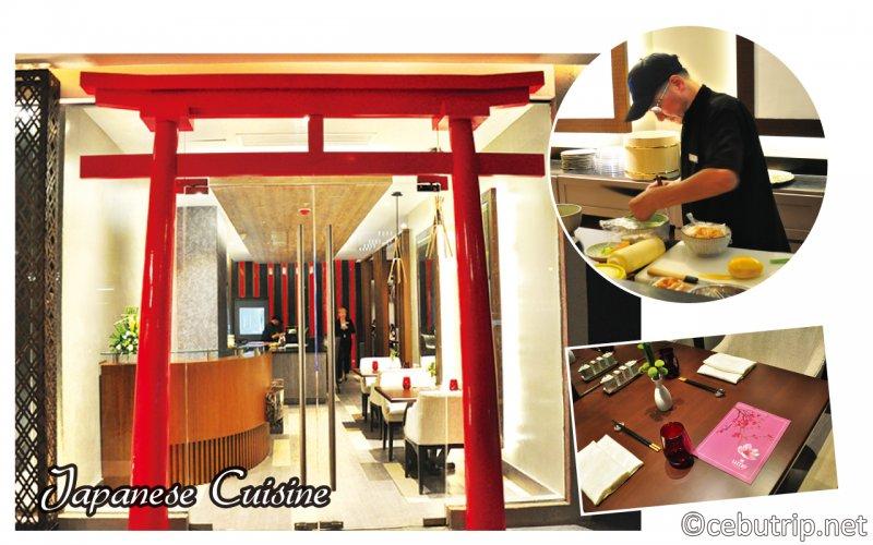 セブ・マンダウエに新しくオープンした「Bai Hotel」 日本食レストラン 「梅」ume