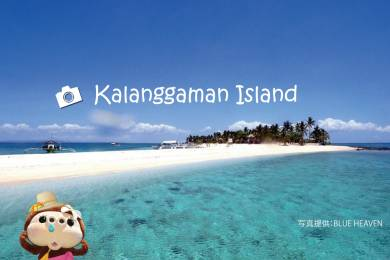 セブ島北部とレイテ島の間に浮かぶ小さな無人島。まるで天国のような幻の楽園 「カランガマン島」 #0