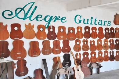 Alegre Guitars Factory #6